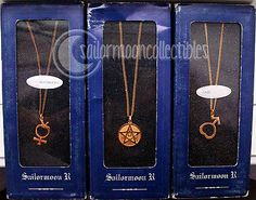 sailor moon necklaces jewelry...yes I'm that dorky.