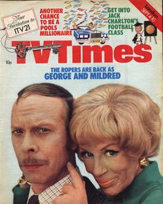 TV Times, September 1976 (Brian Murphy and Yootha Joyce in George and Mildred)