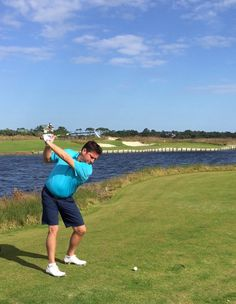 Kiawah Golf Resort - ocean November 2015 Famous Hole 17 Stuck it!