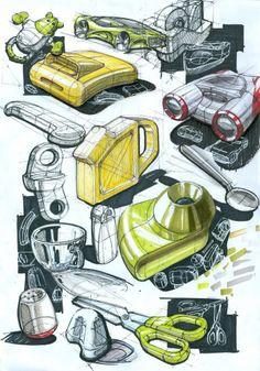 --copecs, fineliner, white gel pen, unbelievable sketchy renders
