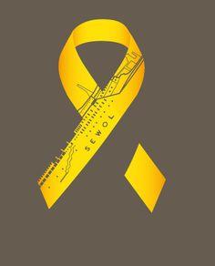 Sewol Ferry Tragedy - Yellow ribbon