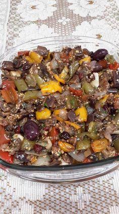 dashkool - 0 results for food Low Carb Recipes, Vegetarian Recipes, Cooking Recipes, Healthy Recipes, I Love Food, Good Food, Yummy Food, Comida Siciliana, Caponata