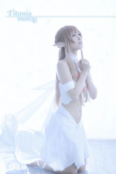 Asuna, Sword Art Online, beautiful cosplay