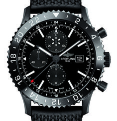 Breitling Chronoliner Blacksteel: Ready for Takeoff › WatchTime - USA's Watch Magazine Breitling Superocean Heritage, Breitling Navitimer, Breitling Watches, Army Watches, High End Watches, Sport Watches, Stylish Watches, Cool Watches, Watches For Men