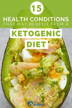 A ketogenic diet is good for much more than just losing weight. Learn how it may help treat epilepsy, diabetes and many other conditions: https://authoritynutrition.com/15-conditions-benefit-ketogenic-diet/