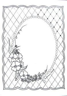 I m not sure what is it exactly. I just tried new pattern in pergamano technique. It can be used for pic frame or greetings card .will se. Colouring Pages, Adult Coloring Pages, Coloring Books, Embroidery Patterns, Hand Embroidery, Parchment Design, Paper Art, Paper Crafts, Diy Crafts