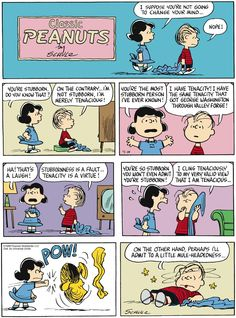 Oh, Lucy, like you're one to talk :)