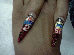 NASCAR nail art