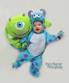 tys 1st halloween monsters inc sully costume mike - Monsters Inc Baby Halloween Costumes