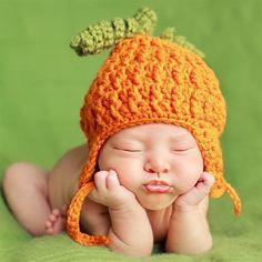 Cute infant posing