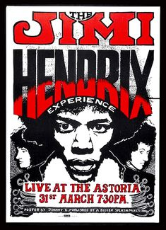 Jimi Hendrix Experience - old poster Poster Tour Posters, Band Posters, Jimi Hendrix Poster, Concert Rock, Psychedelic Music, Psychedelic Posters, Jimi Hendrix Experience, Pochette Album, Vintage Rock