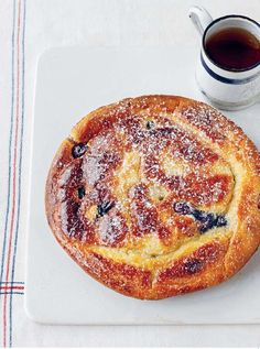Blueberry and Buttermilk American Pancakes