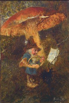 Lot : Heinrich Schlitt, 1849 Biebrich am Rhein- 1923 München, Studium an der Münchner[...] | In the sale Beaux Arts at Henry's Auktionshaus