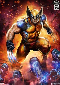 Wolverine Premium Art Print by Dave Wilkins from Sideshow