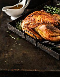 Täytetty kalkkuna ja omena-luumukastike | K-ruoka Deli, Turkey, Holidays, Food, Style, Swag, Holidays Events, Turkey Country, Holiday