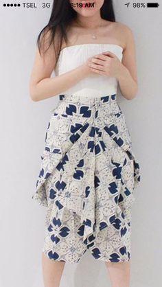 Batik Blazer, Blouse Batik, Batik Dress, Batik Kebaya, Kulot Batik, Model Kebaya, Batik Fashion, Traditional Dresses, Dress Patterns