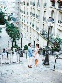 Montmartre Paris Session Couple