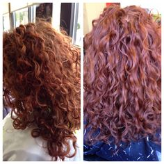 Hydrated curls make color look so much better ! #redcurls