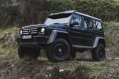Der G500 4×4² die G-Klasse mit Portalachsen feiert seine Weltpremiere in Genf #W463 #4×4 #G500   Mercedes-Benz Passion Blog