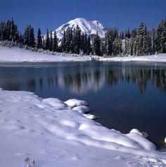 Washington State. Mount Rainier