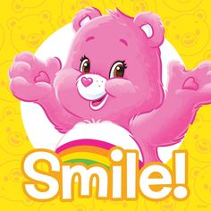 Friday is here! Smile Care, Care Bear Party, Blue Nose Friends, Bear Decor, Bear Theme, Bear Pictures, Tatty Teddy, Care Bears, Cartoon Pics