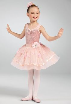 Weissman® Ballet Costumes, Dance Costumes, Flower Hair Clips, Flowers In Hair, Dance Outfits, Embroidered Flowers, Dance Wear, Leotards, Tutu