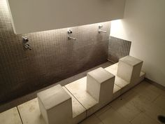 Male Ablution Facility at University of Toronto's Multifaith Centre Room Interior, Interior And Exterior, Interior Design, Lactation Room, Mosque Architecture, Prayer Room, Room Lights, Bath And Beyond, Modern House Design