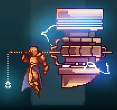 Pixel Dailies 3 - Hammer by ThomasLean