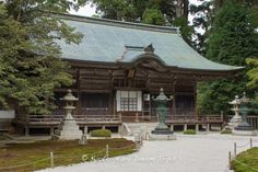 """The main pavilion of Enryaku-ji Temple (延暦寺) is Jodo-in (釈迦堂) because it is the mausoleum of Dengyo Daishi Saicho built a little hut on Hiei san some 1200 years ago. Jodo-in is part of the Sai-tō (西塔, """"West Pagoda"""") complex of Enryaku-ji Temple (延暦寺) on Mt.HieiZan (比叡山) in Ōtsu, Japan. #EnryakuJiTemple, #延暦寺, #HieiZan, #比叡山, #Otsu, #Kyoto, #WorldHeritageSite"""
