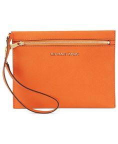MICHAEL Michael Kors Handbag, Large Pouch Wristlet - Shop All - Handbags & Accessories - Macy's