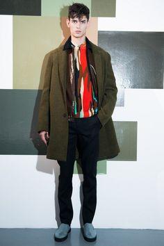 Jonathan Saunders Fall 2013 Menswear