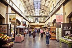 Stroll The Ferry Building for artisanal goods- from fomage to French wines- this place has it all.