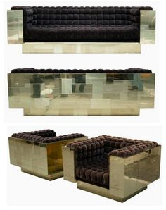 KAGADATO selection. The best in the world. Mirrored furniture. **************************************Paul Evans
