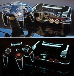 Nintendo 64. Modified.