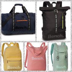 Heb je ons nieuwe merk Bench al gespot? Bench is een trendy Brits merk dat naast kleding nu ook leuke tassen voor hem en haar ontwerpt. Bench is in 1989 opgericht in Manchester en laat zich beïnvloeden door de skate cultuur. Superleuke tassen toch? Manchester, Gym Bag, Bench, Fashion, Moda, Fashion Styles, Duffle Bags, Fashion Illustrations, Desk