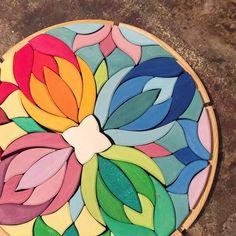 Grimms Wooden Mandala Puzzle