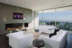 Brilliantly designed Bel Air home on steep terrain