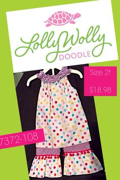Lolly Wolly Doodle #getthelookatdejakids #kidsresale #smartmommy