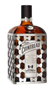 Cointreau Haute Couture Limited Bottle by Alexis Mabille