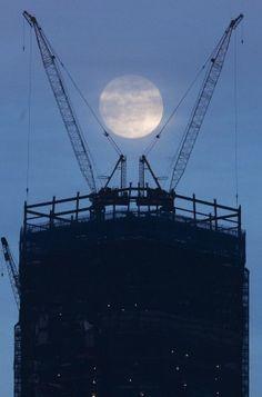 Full Moon shines on Freedom