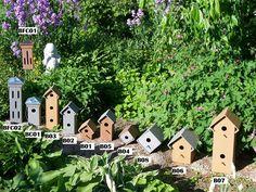 Row Birdhouses