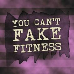 You are either fit or you are not