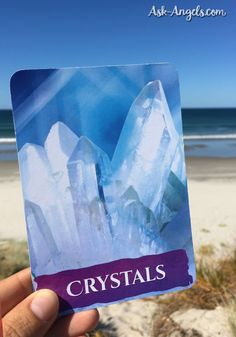 Crystals can help raise your vibration during Angel Card Readings.