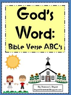 This is a resource for use in Christian or private school classrooms, children's church programs, Sunday School classes, daycares, and for homescho...