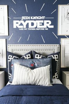 Star Wars Big Boy Room Little Bits of Home Pillows from Zigzagz