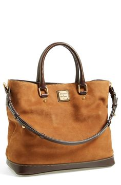 Dooney & Bourke 'Chelsea' Nubuck Leather Tote Sale: $279.90 After Sale: $418.00
