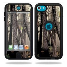 $6.99 Protective Vinyl Skin Decal Cover for OtterBox Defender Apple iPod Touch 5G 5th Generation Case Tree Camo:Amazon:Cell Phones & Accessories