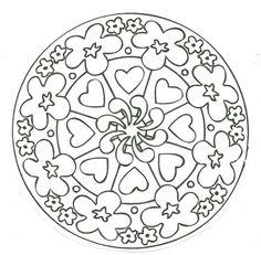 Pin by Lidia B. C. C. on Mandalas para colorear   Pinterest