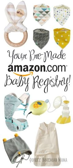Toys For Your Baby Registry \u2013 You Only Need These 5 Baby Gear - baby registry checklists