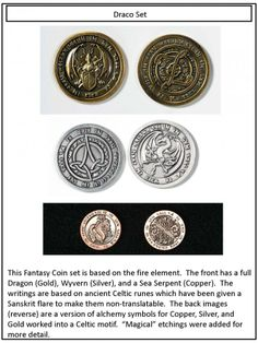 8 Best FANTASY DRACO COIN SET images in 2016 | Coins, Draco, Dragonair
